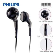 Philips auriculares SHE2550 originales, compatibles con juegos de Audio, MP3, ordenador portátil con estilo de línea de 3,5mm para teléfono inteligente Samsung, Xiaomi, Huawei, MP4