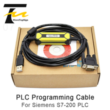 Used for Siemens S7-200PLC Programming Cable Communication Data Series Download Cable USB-PPI+