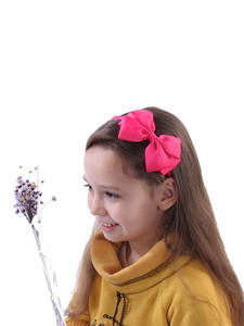 Girl Headband Hair-Accessories Big-Bows Princess Solid 11pcs/Lot High-Quality