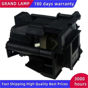 Image 2 - DT01471 lampe De Rechange avec boîtier pour HITACHI CP WU8460 CP WX8265 CP X8170 HCP D767U Projecteurs Happybate