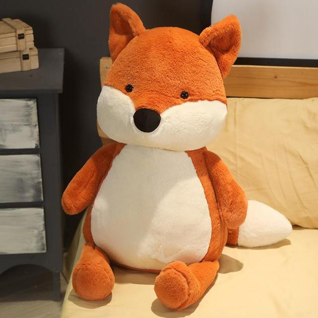 Hot Huggable Kawaii Fox Doll Stuffed Animal Plush Toys for Children Girl Boy Kids Cute Dox Gift Soft Cartoon Christmas Presents