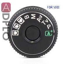 5D3 أعلى غطاء زر وضع الطلب لكانون 5D3 5D مارك الثالث كاميرا استبدال وحدة إصلاح جزء