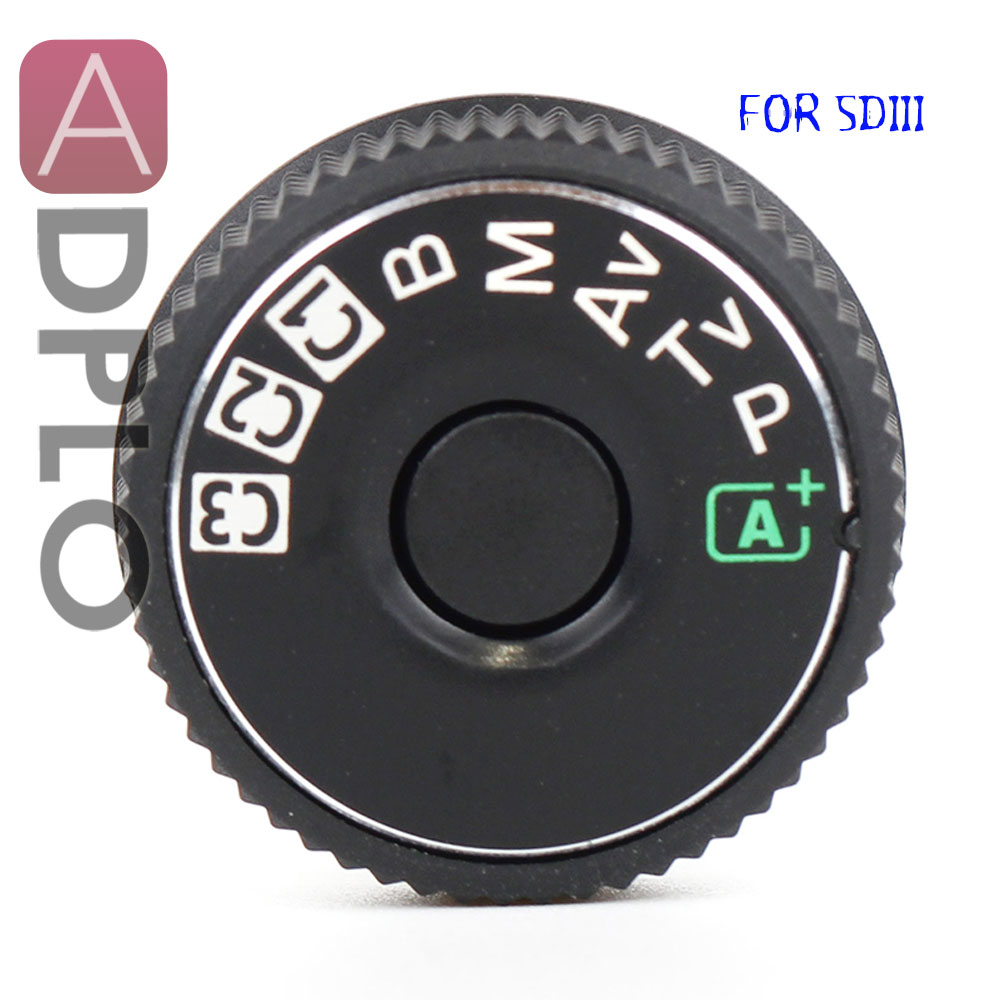 5D3 Top cover button mode dial For Canon 5D3 5D Mark III Camera Replacement Unit Repair Part|Body Parts| |  - title=
