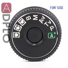 5D3 cubierta superior botón modo dial para Canon 5D3 5D Mark III unidad de repuesto pieza de reparación