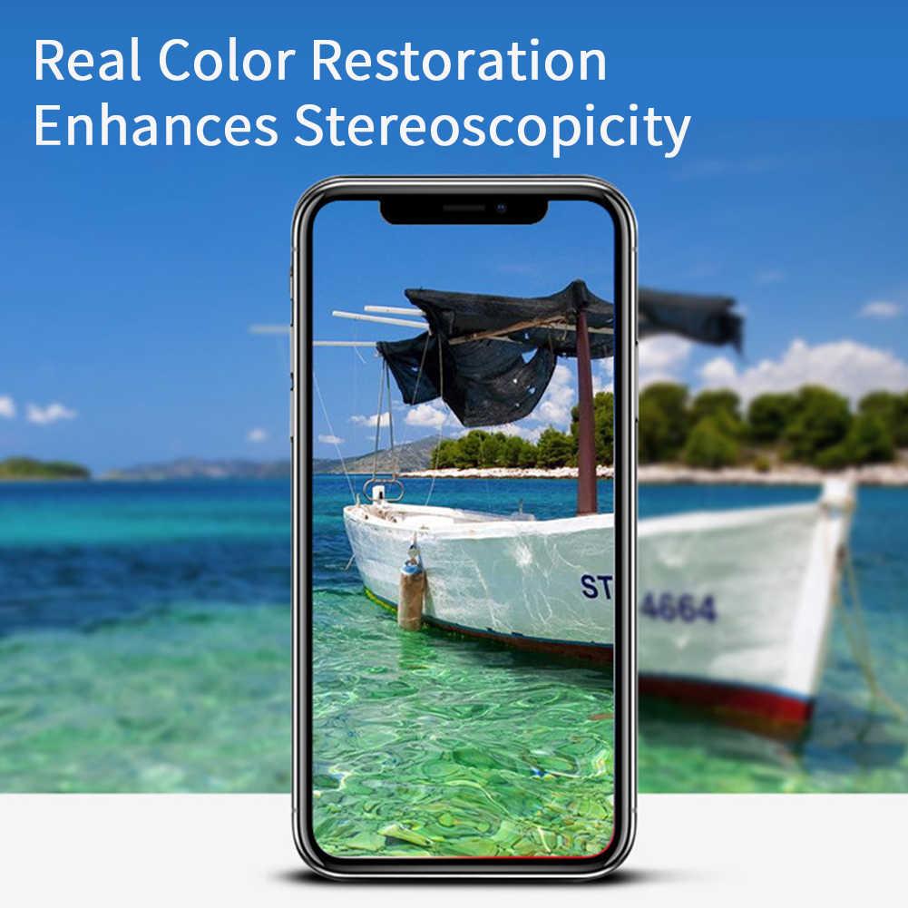 3pcs מלא כיסוי טלפון סרט אנטי שריטה שקוף מדבקת מסך מגן מזג זכוכית Dustproof עבור IPhone 11 Pro מקסימום