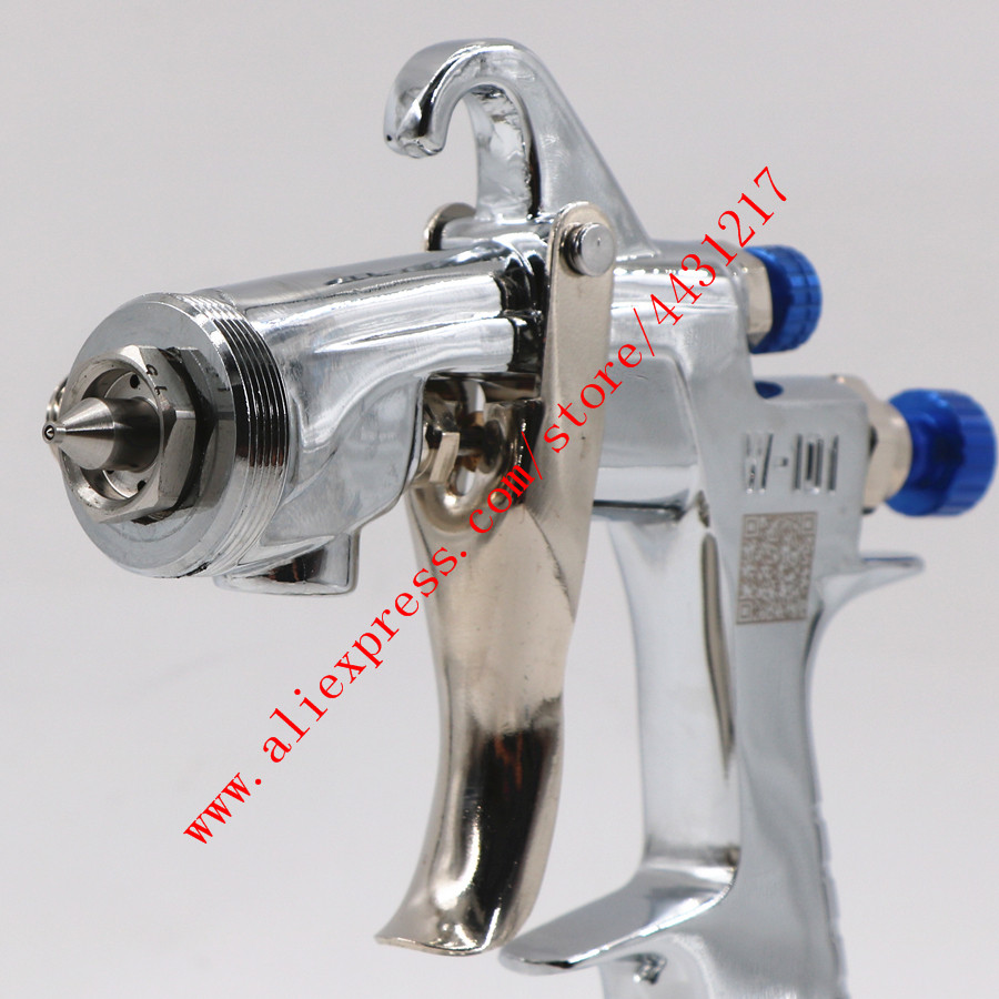 Image 4 - Original Import HVLP W101 Handle Manual 134G Spray Gun W 101 Spray Gun 0.8/1.0/1.3/1.5/1.8mm Car Paint Gun Paint Pistol-in Spray Guns from Tools on