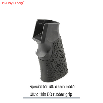 Playful bag Outdoor [DD grip] ultra thin rubber covered motor grip M4 water bullet modified LDT416 BCM CS accessories LD87