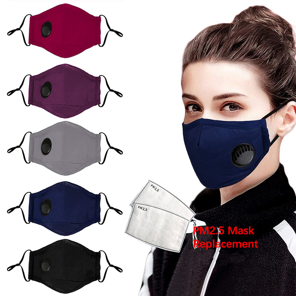 Masque Fpp2 Face Mask With Filter PM2.5 5 Layer Prevent Dust Maska Mascarillas Mascherine Fpp2mask Reusable Facemask Maski