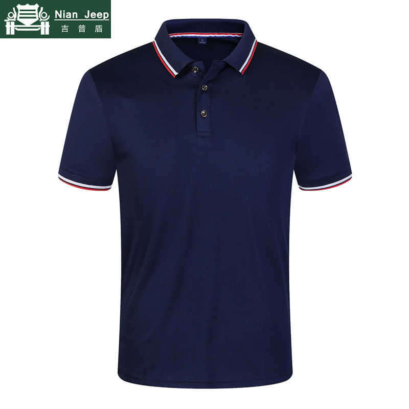 Neue Casual Sommer Polo Shirts Männer 9 Farbe Solide Kurzarm Atmungsaktive Anti-Pilling Polos masculina hombre Plus Größe s-3XL