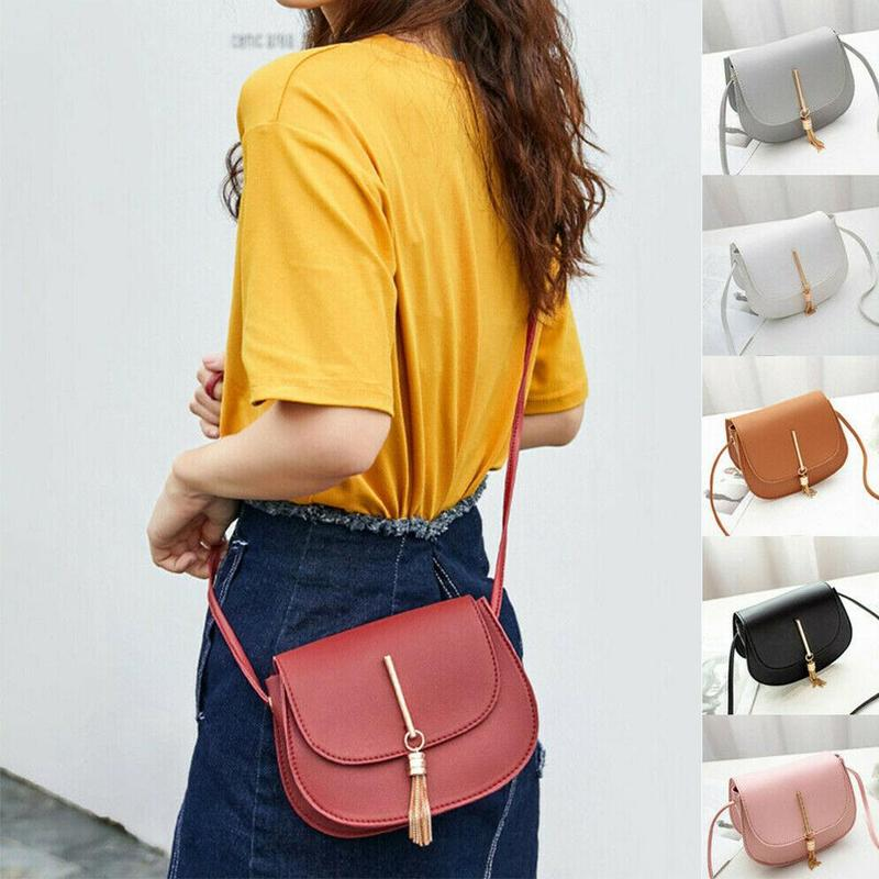 Women Tassel Shoulder Bag PU Leather Envelop Handbags Fashion Ladies Crossbody Flap Bags  Luxury Handbags Women Bags Designer