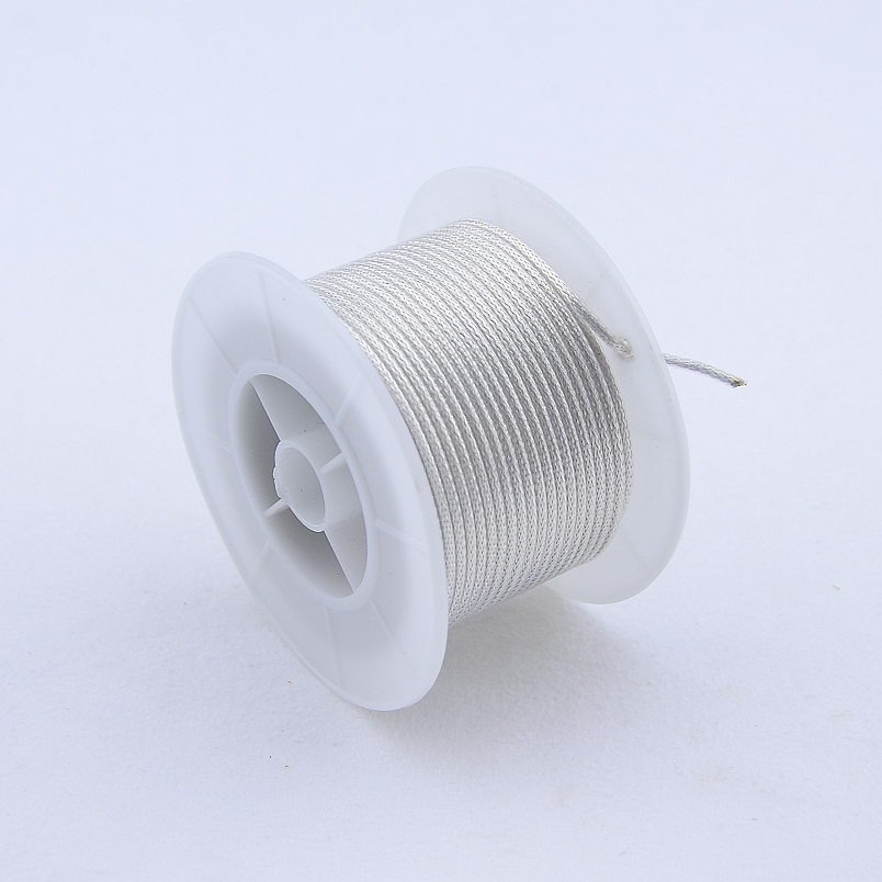 【Made In Korea】 PTFE Oxygen Free Copper Silvering  Braided Shielded  Wire For Electric Guitar Bass