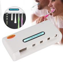 Ultraviolet Toothbrush Holder Sterilizer UV LED Household Multi-Functional Tooth brush