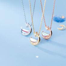 Женское ожерелье с подвеской подвеска из драгоценных камней