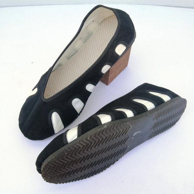 Wudang Daoist Cloud Shoes Hard Rubber Sole 1
