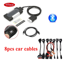 2019 VD TCS CDP Pro plus For delphis VD ds150e cdp Cars Trucks obd2 diagnostic tools vdijk autocoms pro with full set 8car cable 16 pin red led main cable suitable for tcs scanner cdp pro plus ds150e ds150 product obd2 auto cable obd 16pin testing cable