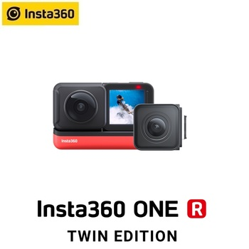 Insta360 ONE R 5.7K Panorama 4K Wide Angle Waterproof FlowState Stabilization Action Camera 5G insta 360 For Video Twin Edition 1