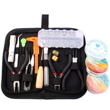 Jewelry Making Supplies Kit with Jewelry Wires and Jewelry Findings Starter Kit Jewelry Beading Making and Repair Tools Kit