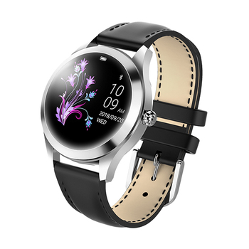 IP68 Waterproof Smart Watch Women Lovely Bracelet Heart Rate Monitor Sleep Monitoring Smartwatch Connect IOS Android KW10 band 7