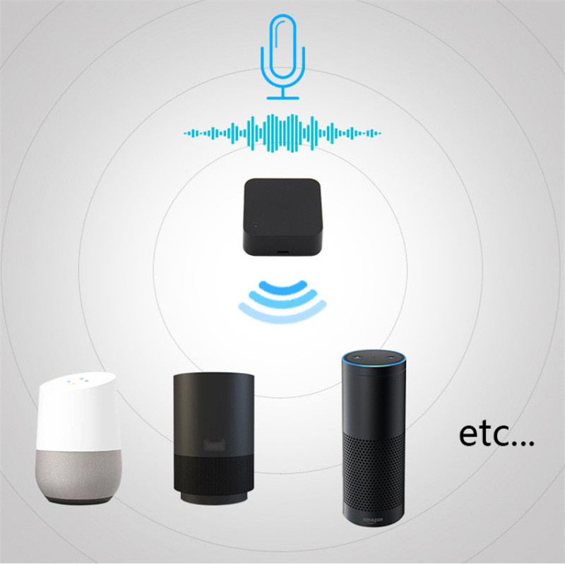 Hdfd35038f2fb47839420c1d87fa9a5e0J - Mini Smart Home Automation WIFI IR Remote Control Intelligent Universal 2.4GHz WIFI IR Remote for Alexa Echo Google Home