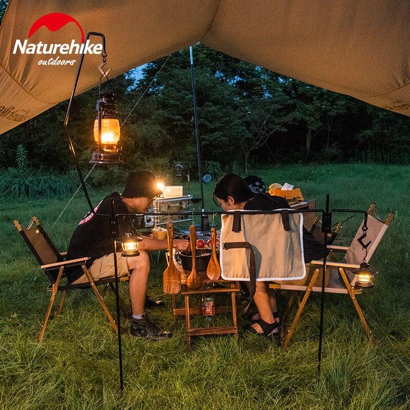naturehike acampamento ao ar livre ferro lampada 04