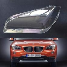 Araba far camı BMW X1 E84 2010 2011 2012 2013 2014 2015 araba far far Lens otomatik kabuk kapak