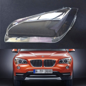 Image 1 - Araba far camı BMW X1 E84 2010 2011 2012 2013 2014 2015 araba far far Lens otomatik kabuk kapak