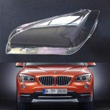 Samochód soczewki reflektorów dla BMW X1 E84 2010 2011 2012 2013 2014 2015 reflektor samochodowy reflektor obiektyw Auto Shell pokrywa