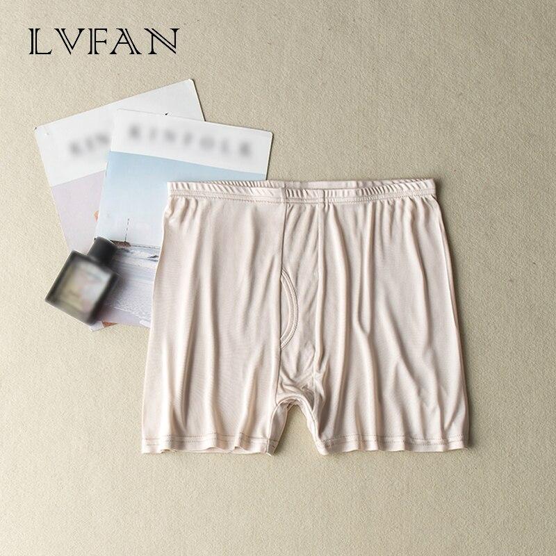 Gençlik seksi ipek boksörler açık kasık erkek ipek iç çamaşırı pantolon kısa nefes spor külot erkek Calzoncillos LVFAN TGS-005