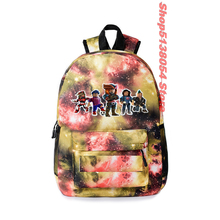 2019 Robloxer Bag School Backpack Women Backpack For Teenager Girls Student School Bags Mochila