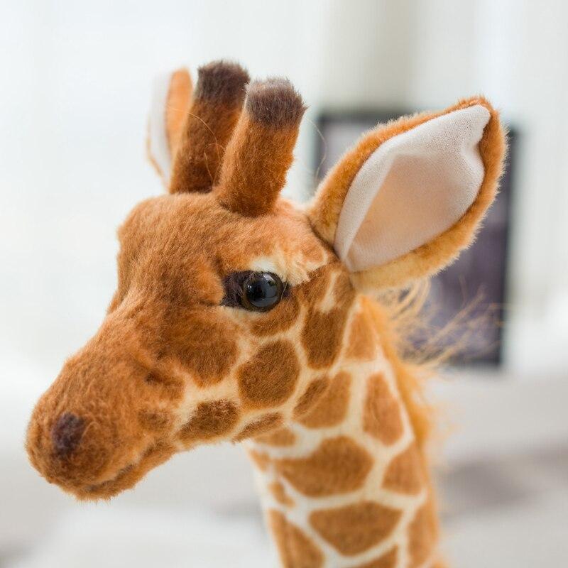 Formato gigante Giraffa Giocattoli di Peluche Farcito Sveglio Animale Morbido Giraffa Regalo Di Compleanno Giocattolo Per Bambini