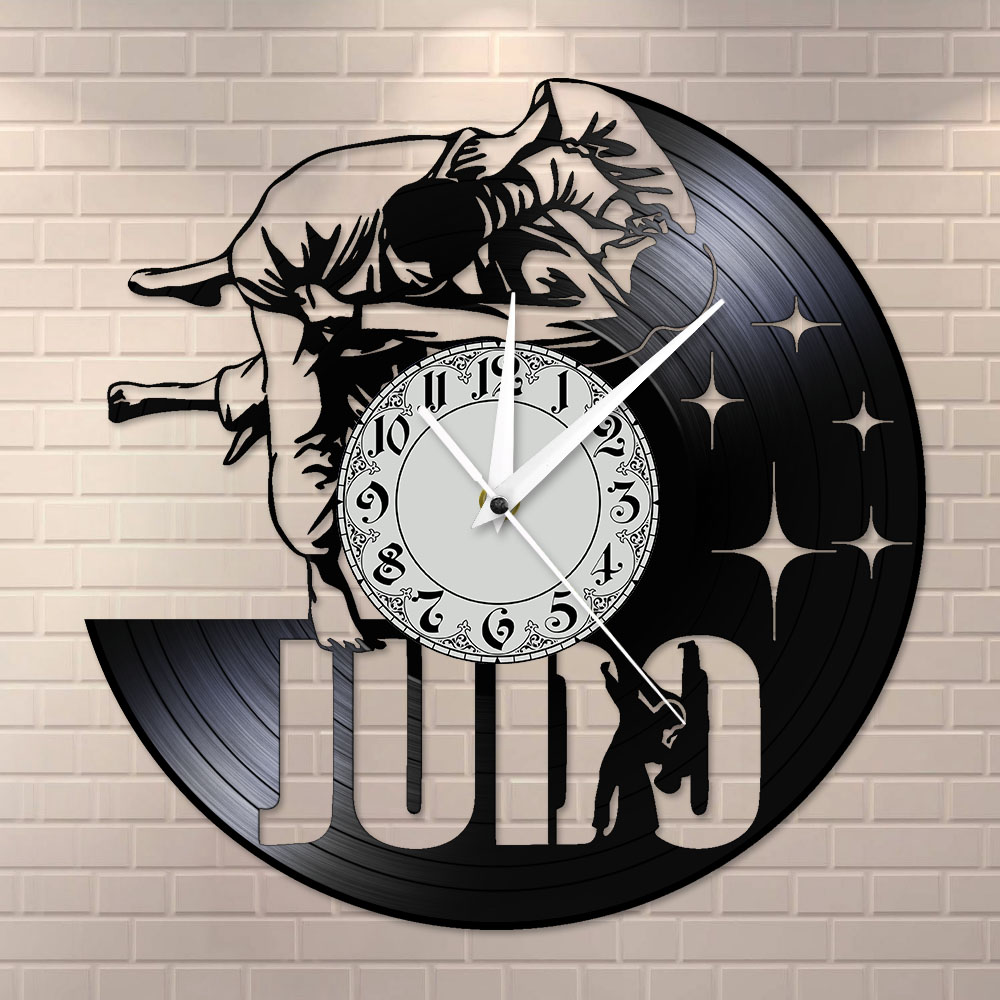 Full Scenic European Styles Wall Clock Rolled-Up Canvas Method Decorative Clocks