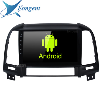 Car Radio Multimedia 2 din android Head Unit Video Player Navigation GPS For Hyundai Santa Fe 2006 2007 2008 2009 2010 2011 2012 image