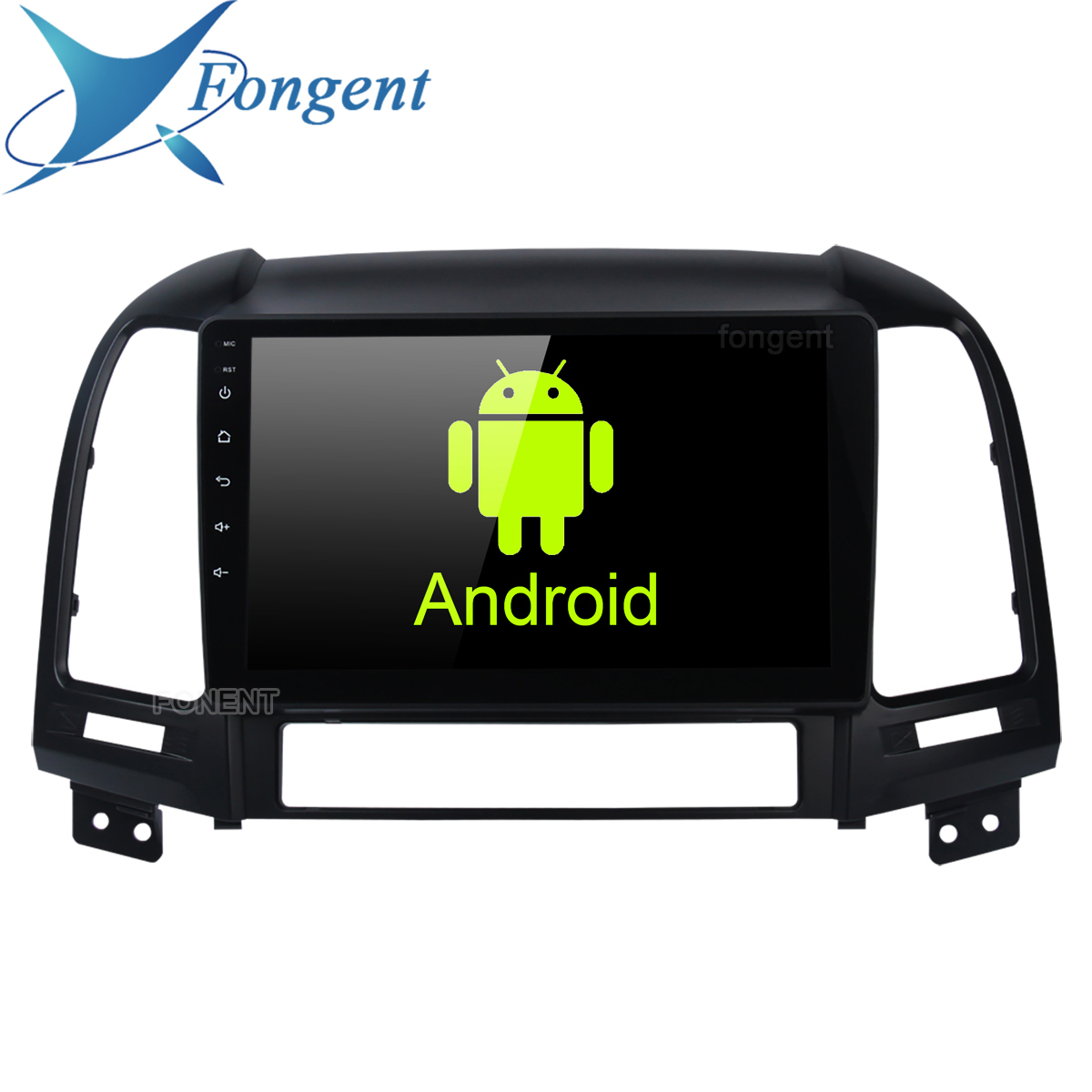 Car Radio Multimedia 2 din android Head Unit Video Player Navigation <font><b>GPS</b></font> For <font><b>Hyundai</b></font> <font><b>Santa</b></font> <font><b>Fe</b></font> 2006 2007 2008 2009 2010 2011 2012 image