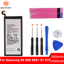 Nephy Origin Battery For Samsung Galaxy S6 S7 Edge Plus S6Edge S7Edge G920F G925F G928F G930F G935F Phone Replacement Free Tool