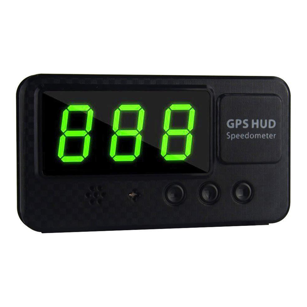 GPS Speedometer Alarm Auto Useful GPS Speedometer Head Up Display ABS Bike Digital Motorcycle Drop Shipping #806