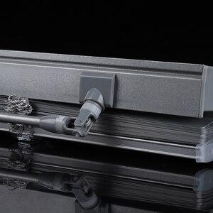 Image 3 - Dostosowane 25mm listwy aluminiowe rolety odporne na promieniowanie UV wiercenie lub brak systemu wiercenia rolety zaciemniające do dekoracji wnętrz