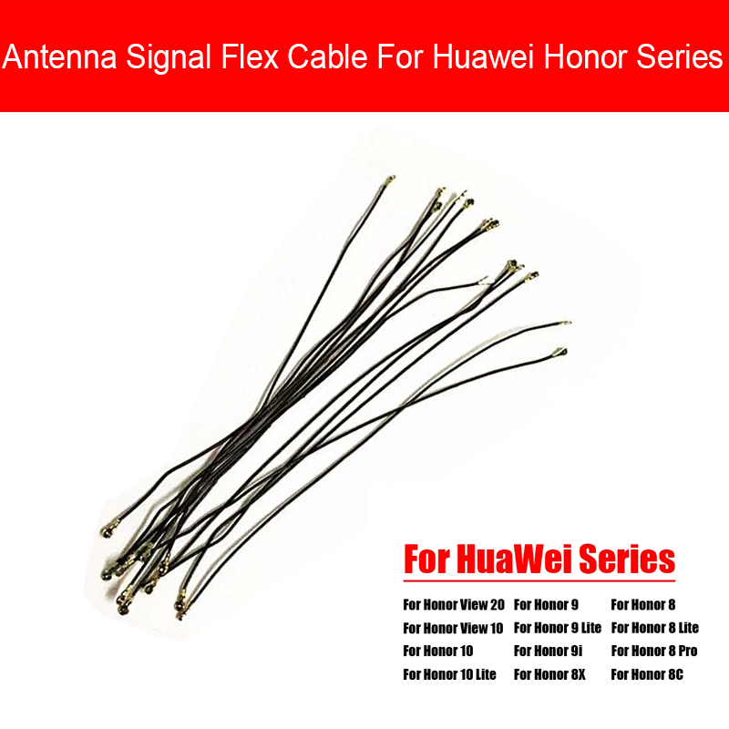 Wifi Antenna Signal Flex Cable Wire Ribbon Antenna Mast For Huawei <font><b>Honor</b></font> 8X 8C <font><b>9</b></font> 9i View 10 20 <font><b>Lite</b></font> Pro Replacement <font><b>Parts</b></font> image