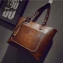 2019 Large Capacity Women Bags Shoulder Tote Bags bolsos New Women Messenger Bags With Tassel Famous Designers Leather Handbags