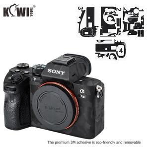 Image 5 - Camera Body Sticker Protective Skin Film Kit For Sony A7 III A7R III A7III A7RIII A7M3 A7R3 Anti Scratch 3M Sticker Shadow Black
