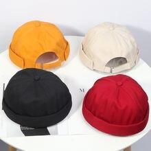 2020 однотонные Цвет шляпа от солнца для женщин в Корейском