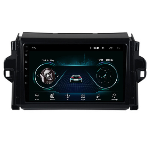 $ US $108.00 Android 10.1/9/8.1 For TOYOTA FORTUNER/  SW4/COVERT 2015 2016 2017 2018  Multimedia Stereo Car DVD Player Navigation GPS Radio