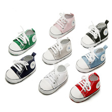 New Canvas Classic Sports Sneakers Newborn Baby Boys Girls F