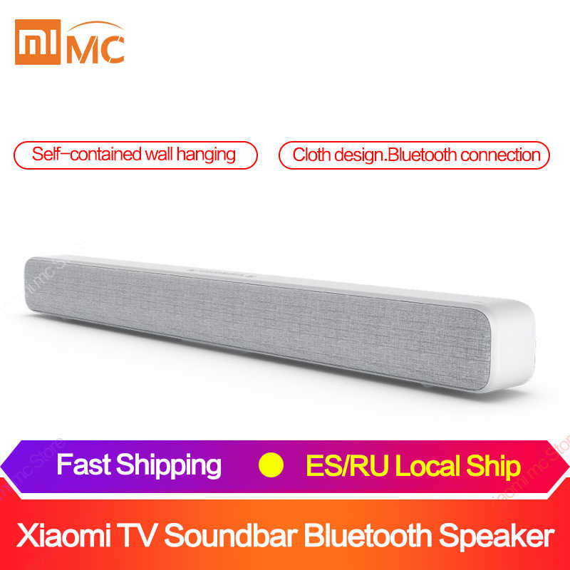 Originale Xiaomi Bluetooth Tv Sound Bar Senza Fili Altoparlante Soundbar Supporto Ottico Spdif Aux in per Home Theatre
