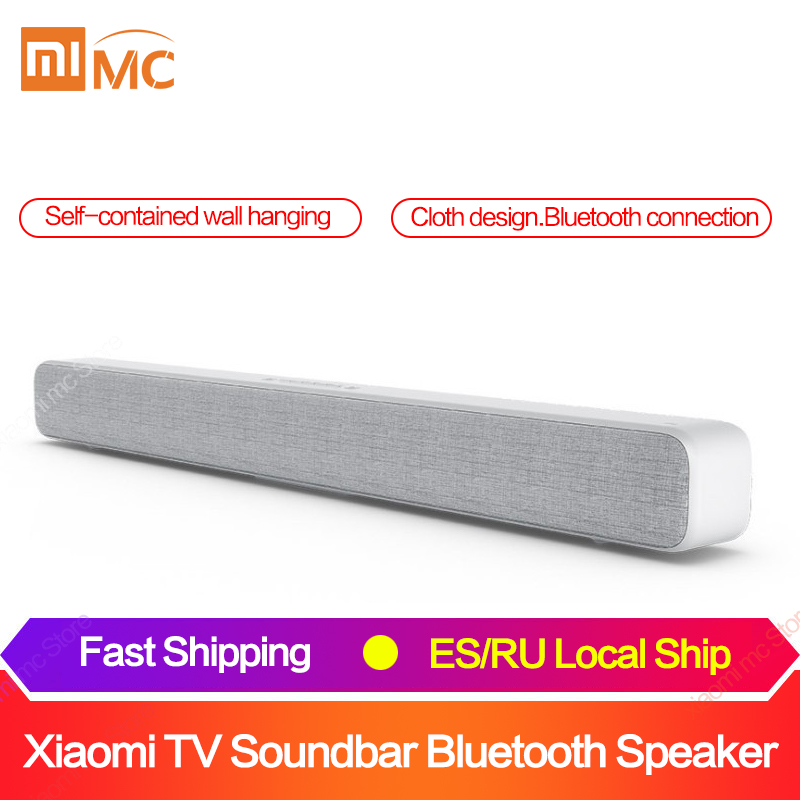 Xiaomi originais Barra de Som TV Soundbar Speaker Sem Fio Bluetooth Suporte SPDIF Óptica AUX IN para Home Theatre