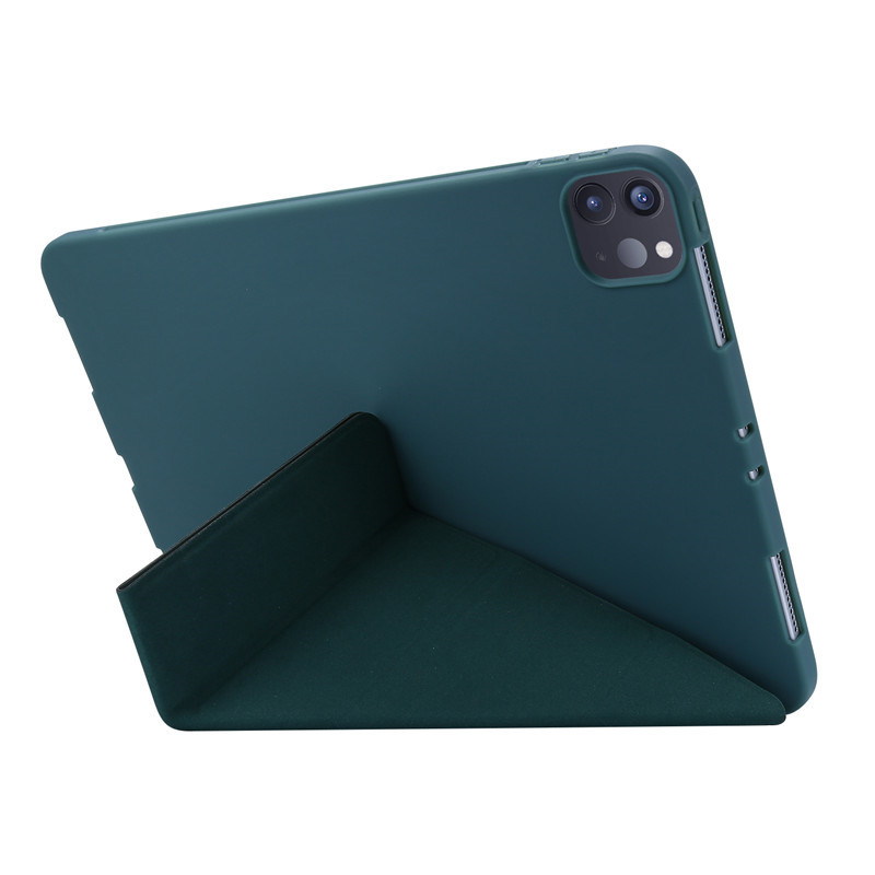 Protective iPad Soft Case For Cover PU Leather Back Smart Case 11 Cover Case 2020 Pro