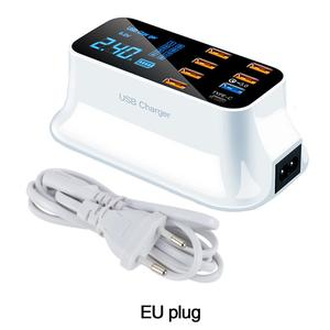 Image 5 - LCD Digital Display Chargeur 8 Ports USB For Xiaomi Huawei Samsung iPhone Android Adaptateur Phone Portable Chargeur XEDAIN