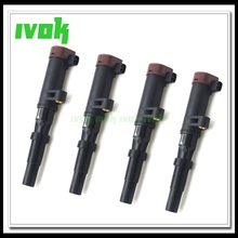 4 unidades/pacote bobina de ignição do carro 7700875000 8200154186a para renault megane cênica clio espace kangoo grand modus opel vivaro