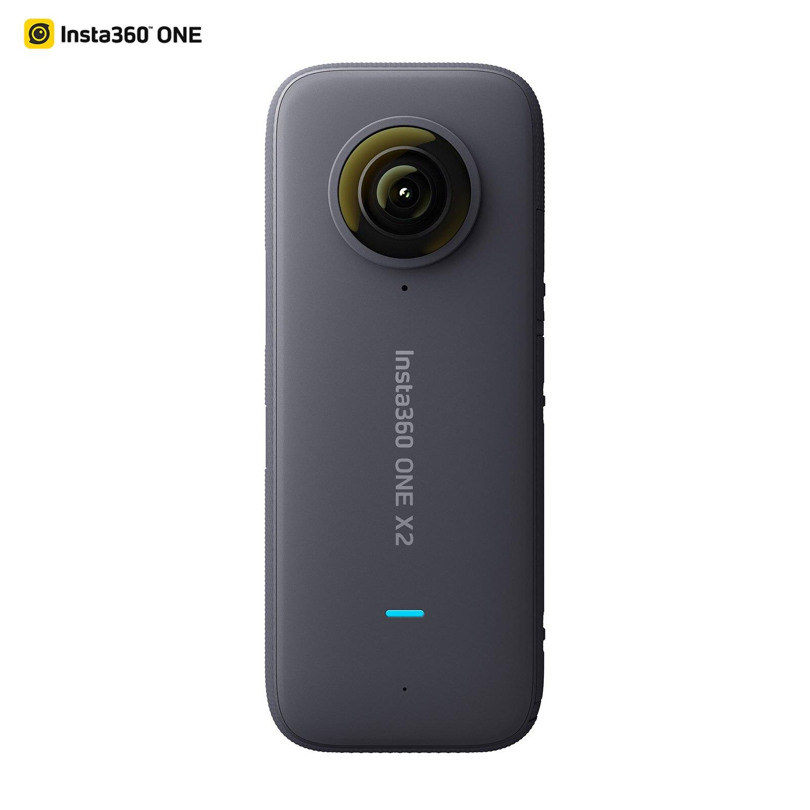 Панорамная Экшн камера Insta360 ONE X2, ЖК дисплей, сенсорный экран, водонепроницаемая, с поддержкой цилиндрической стабилизации времени, 360|Видеокамеры 360 °|   | АлиЭкспресс