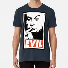 Dr. Evil T shirt dr evil evil dr austin powers mike myers comedy funny movie film shag(China)