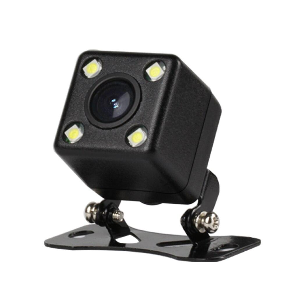 Waterproof Car Rear View Camera 4 LED Night Vision Reversing Auto Parking Monitor CCD 170 Degree HD Video Backup Camera